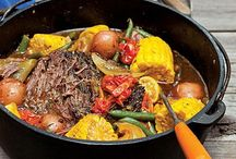 Dutch Oven (the good kind :) / Recipes to cook in Dutch oven over the campfire. / by Jennifer Gross