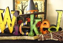Holiday Crafts: Halloween / Crafty ideas for Halloween... / by Nichelle Bates