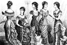 Era Clothing:Victorian/Civil War/Edwardian / Clothing popular from the 1830s to the early 1900s / by Nichelle Bates