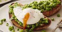 Breakfast / Recipe ideas and inspiration to keep you going until lunchtime
