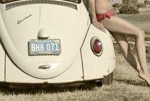 I ❤️ Beetles / (and camper vans)
