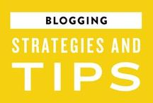 Blogging Strategies + Tips / Learn how to grow your blog!