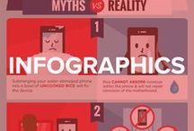 Infographics / Check out these mobile device inspired infographics.