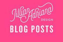Jillian Adriana Design / Blog posts + resources from my website!