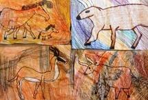 History: Dinosaurs & Prehistoric age / by Lisa