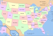 Geography- North America & wild-west / by Lisa