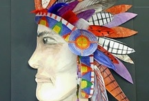 History: Indianer (Native americans) / by Lisa