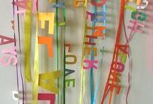 Language- Alphabet crafts and activities