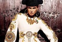 #designTrend   España / 2013   gold, jewel tones, velvet, rich, luxurious, catholic religious symbols, embroidery, scrolls, embellishments,  / by Katie Hatch