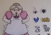 Fairytale -Old lady who swallowed a fly