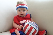 Lil' Trotters / Nothing is cuter than a baby...except a baby baller.  Here are the cutest kids and baby baller pictures that we know of. / by Harlem Globetrotters
