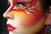 Fall / Halloween / Facepainting / by Lisa