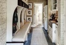 The Mudroom + The Laundry Room