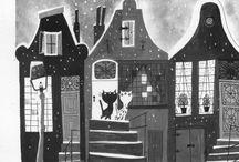 Fiep Westendorp / http://www.fiepwestendorp.nl | Sophia Maria (Fiep) Westendorp (Zaltbommel, 17 december 1916 – Amsterdam, 3 februari 2004) was een Nederlands tekenares, die vooral bekend werd door de tekeningen van Jip en Janneke.