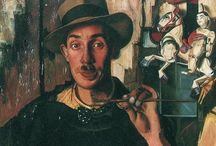 Dick Ket / Dick Ket (October 10, 1902 – September 15, 1940) was a Dutch magic realist painter noted for his still lifes and self-portraits.