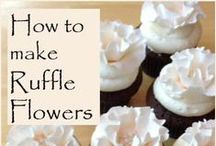 Cake Decorating Helps / Great tips and tricks for dessert decorating. Tutorials and how to's using edible mediums like fondant, modeling chocolate, candy, gum paste, and more
