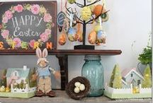 Easter / Easter and spring decor / by Dagmar Bleasdale {D's Home}