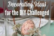 Easter and spring DIY decor ideas / The most beautiful Easter and spring decor all on one board! #Easter #spring #DIY #crafts