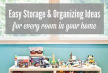 organizing / Need help with organizing? This board is for you! It's full of creative and practical organizing ideas. #organizing #storage #DIY #office #craftroom #kitchen #organize