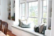 window seat / by Dagmar Bleasdale {D's Home}