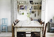 dining room / by Dagmar Bleasdale {D's Home}