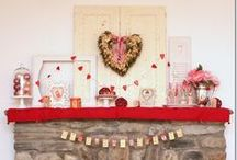 Valentine's Day ideas / This board is all about Valentine's Day ideas: the cutest, prettiest, and most clever DIY Valentine's Day ideas I found on Pinterest. #Valentine #ValentinesDay #DIY #crafts #holidays #love #hearts #red / by Dagmar Bleasdale {D's Home}