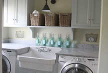 laundry room / by Dagmar Bleasdale {D's Home}