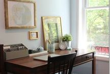 office / I work from home, so I'm always looking for beautiful home office ideas! Well, here are the best I've found on Pinterest! #office #homeoffice #DIY #interiordesign #WAHM / by Dagmar Bleasdale {D's Home}