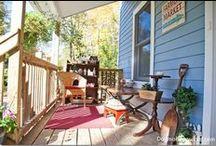 porch / by Dagmar Bleasdale {D's Home}