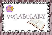 Wild About Vocabulary / Books, freebies, anchor charts, and more really cool vocabulary stuff!