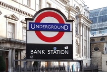 Bank / Photos in and around Bank Underground Station. / by Randomly London