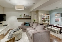 basement ideas / by Rebecca Hoyen