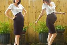 pregnancy style: diy maternity clothes & outfits / Ideas for thrifting, sewing, altering, diying, and making your own maternity wardrobe.
