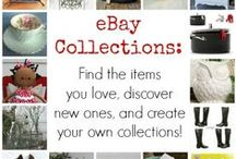 My eBay Collections / I'm an eBay curator and I create eBay Collections for items I love and want to decorate our new house, the Blue Cottage, with.