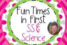 Fun Times in First Science and SS Products / Here you will find resources to support your instruction of many science and social studies topics. / by Nancy Taylor-Davis