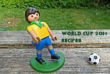 World Cup recipes / International recipes to celebrate the World Cup 2014