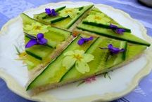 Edible flowers and blooms / Recipes including flowers and blooms / by Galina Varese