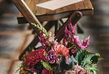 Flowers & Decoration / Flower and decoration possibilities are endless - and your chance to inject your personality into your wedding day. Here are a few we thought were particularly lovely!