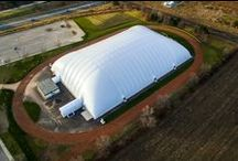 Soccer Domes / Soccer is the world's game.  But some parts of the world experience seasonal weather that makes it impossible to play outside.  A Farley soccer dome is the ideal solution for keeping the ball rolling all year round.  As North America's industry leading soccer dome company, The Farley Group has manufactured and installed many soccer domes throughout the U.S. and Canada.  Check out some of the soccer dome projects we've been involved with below.