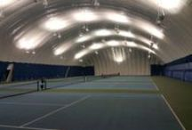 Tennis Domes / A Farley tennis dome is the ideal solution for keeping the racquet swinging all year round.  As North America's industry leading tennis dome company, The Farley Group has manufactured and installed many tennis domes throughout the U.S. and Canada.  Below are some of the tennis dome projects we've completed.
