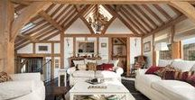 The Campbell's / The Campbell's beautiful barn-style oak frame home in Powys. For the full case study go to http://www.welshoakframe.com/case-studies