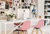 Studio Workspace / Inspirational and creative studio workspaces