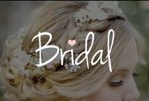 """Bridal / Before you say """"I do,"""" check this board for inspiration when you're ready for Prince Charming to sweep you off your feet."""