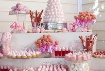 Party Deko: Candy Bar / Party Deko für deine Candybar Sweet table. DIY, Ideen, Dekoration, Styling, Snacks, Food, Selbermachen, selber machen, selbstgemacht, Papier, Basteln, Feste, Feiern, Rezepte, Tischdeko, Tischdekoration, Heiraten, Liebe, Printable, Freebie, Hochzeit, Geburtstag, Süßigkeiten, Weihnachten, Silvester, Ostern, Halloween, Sommer, Einschulung, Schulstart