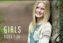 Girl's Clothing / Find all your favorite Buckle styles and brands for youth girl's sizes 7-16.