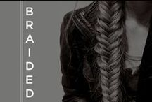 """Braided / Don't just """"do"""" your hair; embrace your inner beauty fiend and say hello to endless styling possibilities. www.sultra.com"""