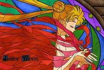 Sailor Moon ☪ / ☪ Sailor Moon ♁ Tuxedo Mask ☿ Sailor Mercury ♀ Sailor Venus ♂ Sailor Mars ♃ Sailor Jupiter ♄ Sailor Saturn ♅ Sailor Uranus ♆ Sailor Neptune ♇ Sailor Pluto / by Natascha