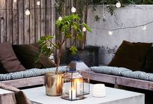 Garden & Outdoor Dining / Patios, Porches, and Dinner Parties