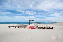 Vibrant Palmilla Beach Wedding By Amy Abbott Events / This fun couple wanted to create and event that was elegant with a tropical and fun vibe. I think we hit it off!
