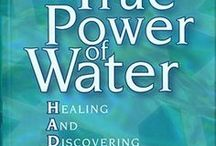 Water is Life / Six to ten glasses of pure water each day are necessary to enhance your body's functioning. Over half of your body is made up of water. It's in every cell and every tissue. Biological processes like circulation, digestion, absorption and excretion depend on water. It forms the foundation of blood and lymph, maintains hearty muscles and young-looking skin, lubricates joints and organs and regulates body temperature. You can't function without it. / by Marilyn Pabon